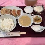 58023872 - 焼き餃子ランチ(600円)
