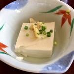 鮨岡 - H28.10.28 小鉢3種「温奴」