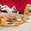 望洋館 - 料理写真:生干し焼きいか & ビール