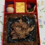 福豆屋 - 海苔のり牛めしの中身