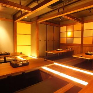 【店内】◆要予約◆完全個室で落ち着いた雰囲気
