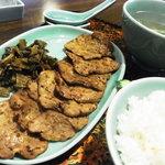 牛たん 大野屋 - 牛タン定食(ライス・焼 大)