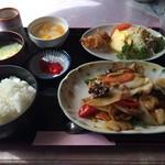 中華レストラン 五望 - 八宝菜定食
