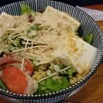58031061 - 豆腐の胡麻サラダ
