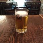 餃子とタンメン 天 - ビール。