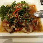 サイアム クイジーン - 追加注文。タイの魚のライム蒸し。1000円だったはず。