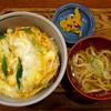 めん処 栄家 - 料理写真:カツ丼セット
