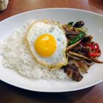 58032776 - 牛肉のオイスター炒め