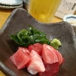 もつ焼き 栄司 - マグロぶつ