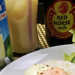 フィリピンビール・トロピカルドリンク
