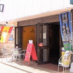 エスパーニャバル・ハポロコ - 春日商店街にあります 天候が良いのでフルオープン