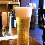 エスパーニャバル・ハポロコ - ランチビールは¥300  ちゃんとした量♪