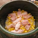 青山 仁 - 甘鯛 とうもろこし 炊き込みご飯