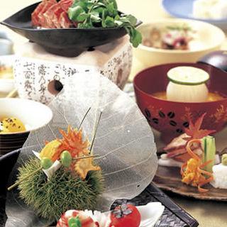 創業140年伝統の会席料理をご堪能ください。