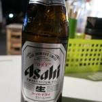 屋台安兵衛 - ビールはアサヒ