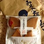 田中屋せんべい総本家 - 「四ッ折」4枚540円