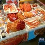 阿部商店 - 料理写真:たらば蟹