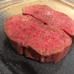 竹田屋 - 焼く前のお肉。  素敵すぎる光景! ああ眩しい(๑´ڡ`๑)