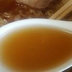 山喜 - スープの感じ。                          28.10.26