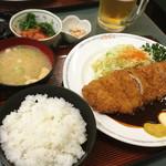 とんかつキッチン カナン - 味噌マヨとんかつ 単品850円 定食1,130円