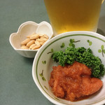 とんかつキッチン カナン - 明太子にんにく醤油 350円