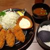 極みとんかつ かつ喜  - 料理写真:特選四元フィレかつ 牡蠣フライ膳