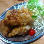 かき小屋 - から揚げ定食