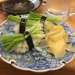 58053802 - 芽ねぎの寿司