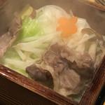 Ryoutei - 豚しゃぶ蒸し籠