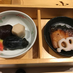 Ryoutei - 焚き合わせと焼魚