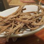 粗挽き蕎麦 トキ - お通し