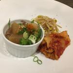 串肉料理Da-Wa - 前菜盛り合わせ