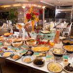 トラットリア アリストン テラッツア - ホテル自慢の朝食バイキング