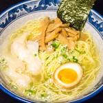 もくもく - 海老のワンタン麺