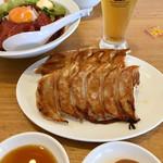 大阪王将 - 餃子も食べました