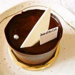 ジャンヌダルクカフェ - お店の名前を冠するケーキ「ジャンヌダルク」