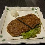 居酒屋 ぶらぶらある記 - 愛媛の郷土料理 じゃこ天(315円)自家製かも?
