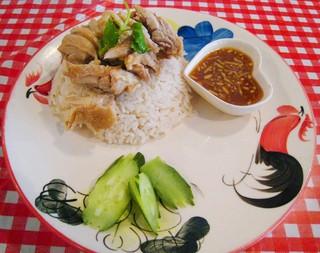 バナナ食堂 - ('10/11)茹で鶏のせ炊き込みご飯
