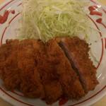 Niimura - ヒレかつランチ ¥930 のヒレかつ