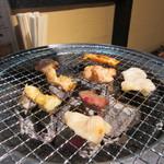 田中ホルモン - 此処からは自慢のホルモン等の焼肉タイムです。