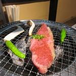 田中ホルモン - 焼肉は炭火焼なんでくせになりそうな旨さです。やっぱり炭火焼が一番ですね。