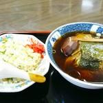 飯店波良 - 料理写真:「Aセット(ランチ)」¥750税込