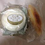 スイートオーケストラ わらく堂 - カゴ盛りレアチーズケーキ、スイートポテト