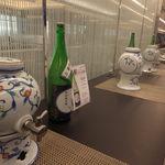 ANAラウンジ - 島根の日本酒がずらり