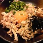 喜三郎農場 - 鶏ササミとこだわり卵のユッケ仕立て