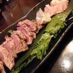 喜三郎農場 - 宮崎鶏のたたき