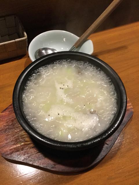 韓食酒家 yooga - ソルロンタンぐつぐつー(*´∇`*)