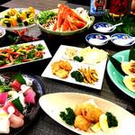 和食ダイニング・白鷺亭 - 華コース料理内容