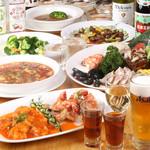 グランド大連 - 【2時間飲み放題付】全80品以上から選べる食べ放題コース|歓送迎会 宴会 飲み会 昼 夜