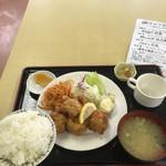 郷や - からあげ定食 700円 2016.10.28
